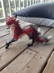Kitsune sculpture by griffin126