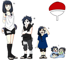Uchiha Babies by 1090506
