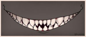 [G] Show me your teeth by SylwiaPakulska