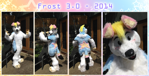 FROST FURSUIT 2014 by Frosted-Monster