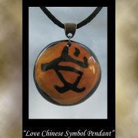 Chinese Simnol Pendant by KabiDesigns