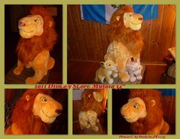 2011 Disney Store Mufasa by DoloAndElectrik