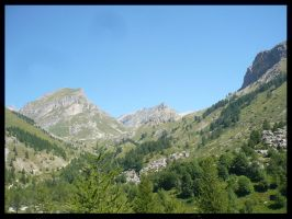 The other side of the Alps by PLetc