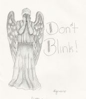 Weeping Angel - Dont Blink by Demon-Slayer13