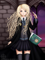 Luna Lovegood by Noemnerys