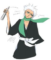 Winter Fashion 2012 - Hitsugaya Toushiro by SillyWQ