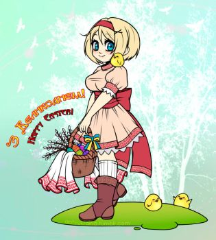 Happy Easter by APH-Ukraina