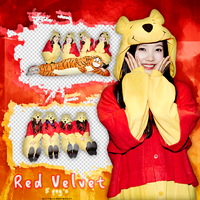 |Red Velvet|PHOTOPACK PNG|02|05| by bittersweetHxart