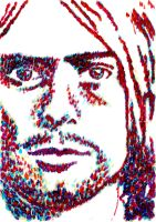 Kurt cobain by runner-painter