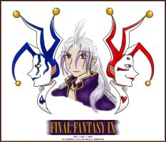 FFIX - Zorn, Kuja, and Thorn by elendraug