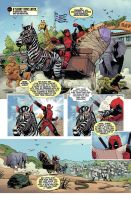 Deadpool: Dracula's Gauntlet #2 by ReillyBrown