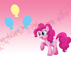 MLP: Pinkie Pie Wallpaper by Togekisspika35