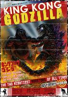 KingKong vs Godzilla by playerDNG
