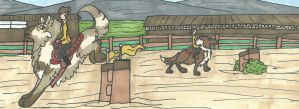 [Commission] Show Jumping by Ecanusiofiel