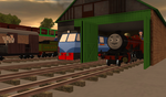 New engine in the shed by WarshipNo10