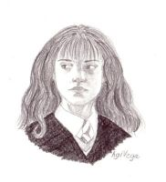 Disapproving Hermione by AgiVega