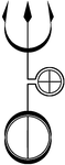 Hekate's Trident, Vector by Alchemy-stock