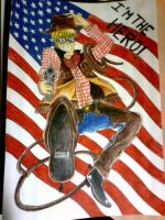 APH - Cowboy Alfred painted by Rinakiiro