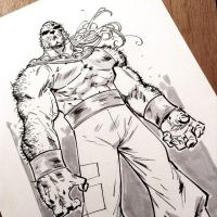 Sabretooth Age of Apocalypse by rogercruz