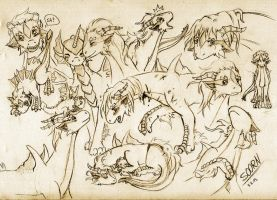 Soorn Sketches by Wollfisch