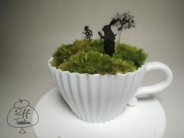 Teacup Alice Dream by puffterrariums