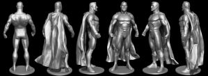 3D Scan of ActionFigures - SuperMan by Hal8998