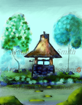 Wishing well watermarked by DenNami