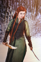 Tauriel by StarbitCosplay