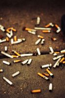 Scattered Cigs. by Foxtrot44