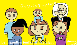 back in your time poster thing by GothicTaco198