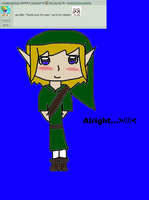 Me in Link tuinic by AskHiddenHeroesEllie