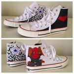 Red Hood Sneakers by breathless-ness