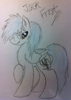 Jack Frost ROTG Ponified! by anonymousnekodos