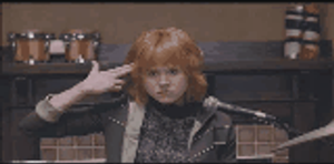 Scott Pilgrim Gif: Kim Pine by SuperNinjaAlex
