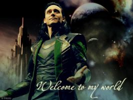 Welcome to Loki's world by Futbolerka