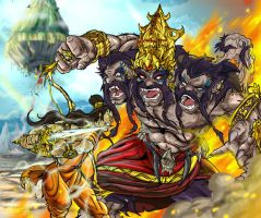 Ramayan - Ultimate Face-off by JazylH