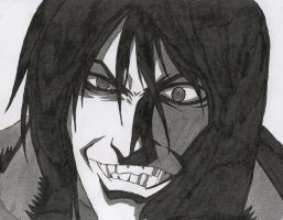 Alucard in ink by Erry