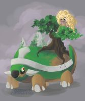 Madilyn gets a ride by Pokeaday