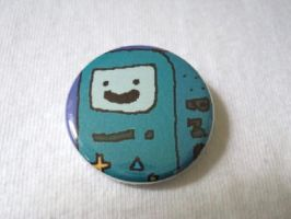 Adventure Time BMO 1.25 inch pinback button by Tharidra