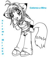 CoLoR MiRu xD by XtremeMiruka