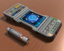 TR-600A Tricorder by sc452598073