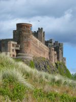 Bamburgh Stock 4 by Queenselphie