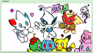IScribble: Poke-Chao Spree by Togekisser