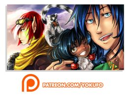 Support me on PATREON by Yokufo