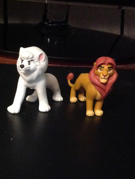 Lion Guard Blind Bag Simba, and Yutaka Leo by Se7J-r