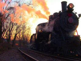 WW 98 on a cold December evening by david245611