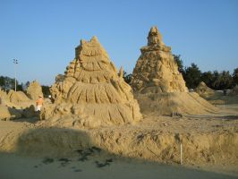 Sand art in burgas 29 by tonev