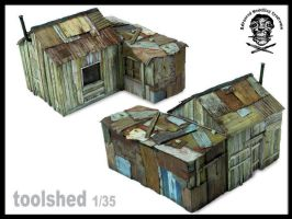 toolshed in miniature by AlessandroBruschi