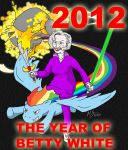 2012 Betty White's Year by cat-gray-and-me78