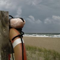 Storm over bald head by lowjacker